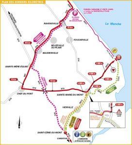 Tour de France 2016 - Derniers kilomètres de l'étape 1
