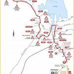 Parcours des derniers kilomètres de l'étape N°2 du Tour de France 2016 entre Saint-Lô et Cherbourg-en-Cotentin