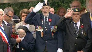 Commémorations du 74ème anniversaire du débarquement à Dieppe - 19 août 1942