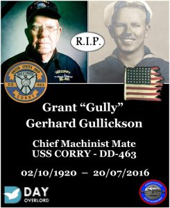 Grant Gully Gerhard Gullickson
