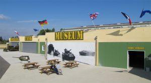 Inauguré en 2013, le Normandy Tank Museum fermera ses portes le 18 septembre 2016, en raison de diverses difficultés. Sa collection est proposée aux enchères dans le cadre d'une vente exceptionnelle.