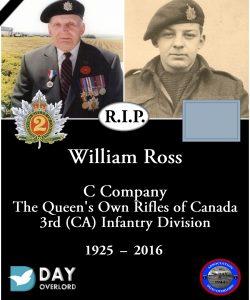 William Ross - 1925-2016