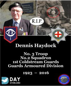 Dennis Haydock - Guards Armoured Division