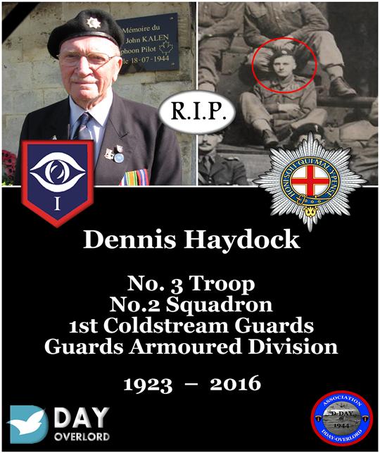 Dennis Haydock - Guards Armoured Division