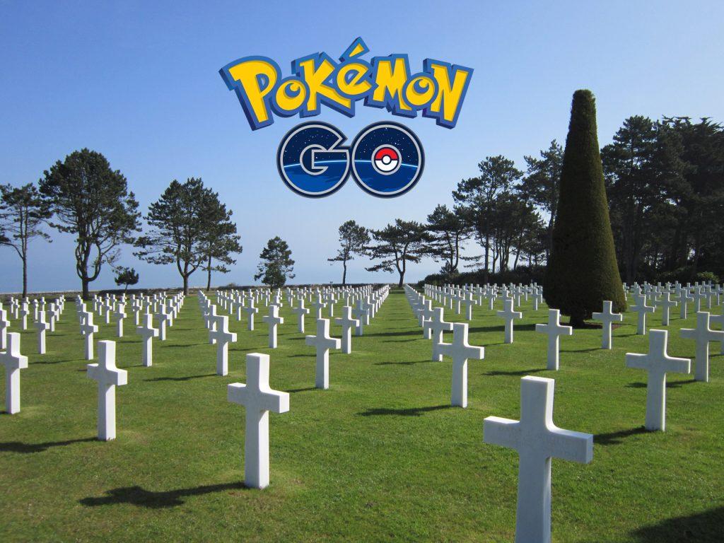 Pokemon Go Normandie