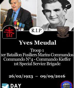 Yves Meudal - 1er bataillon Fusiliers Marins Commandos