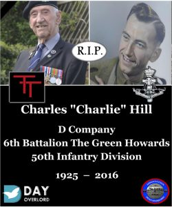 "Charles ""Charlie"" Hill - D Company, 6th Battalion The Green Howards"