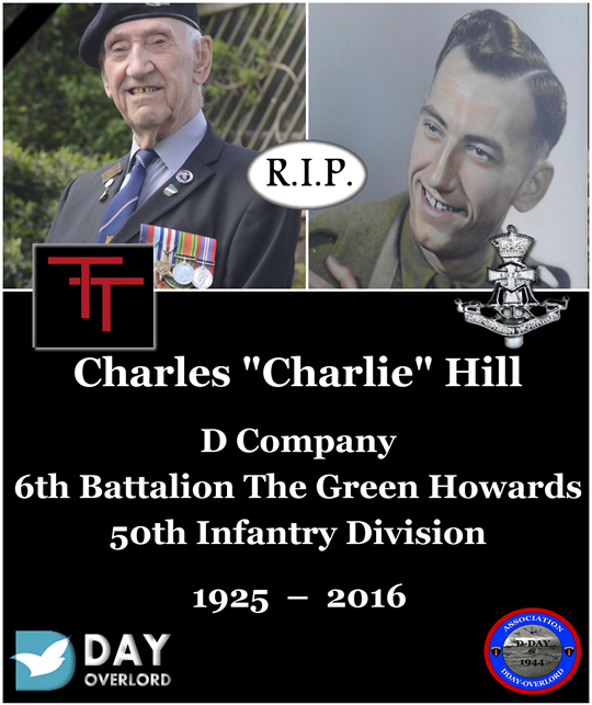 """Charles """"Charlie"""" Hill - D Company, 6th Battalion The Green Howards"""