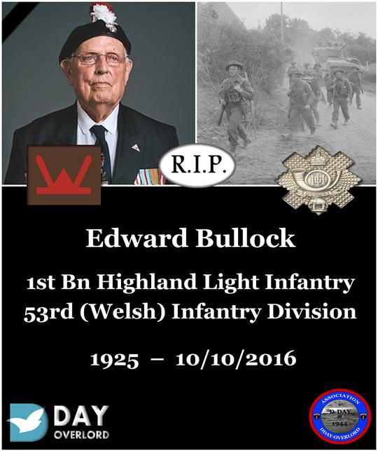 Edward Bullock - 53rd (Welsh) Infantry Division