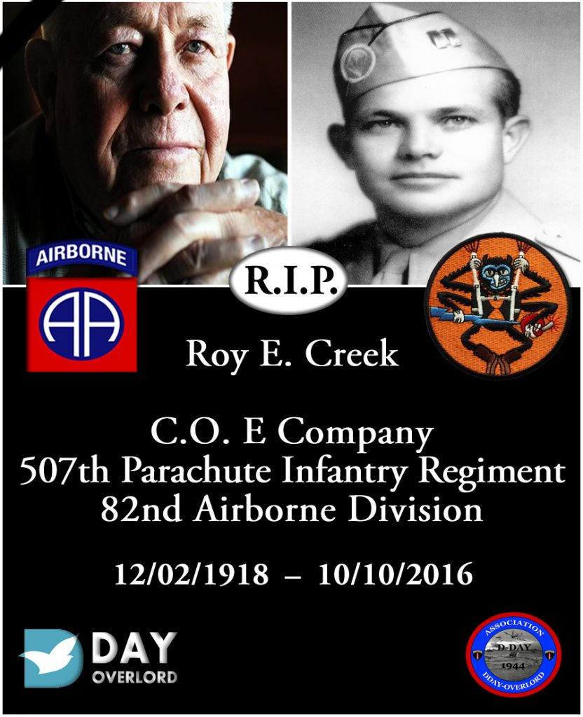 Roy E. Creek - 82nd Airborne Division