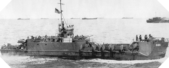 Image : Landing Craft Infantry (LCI)