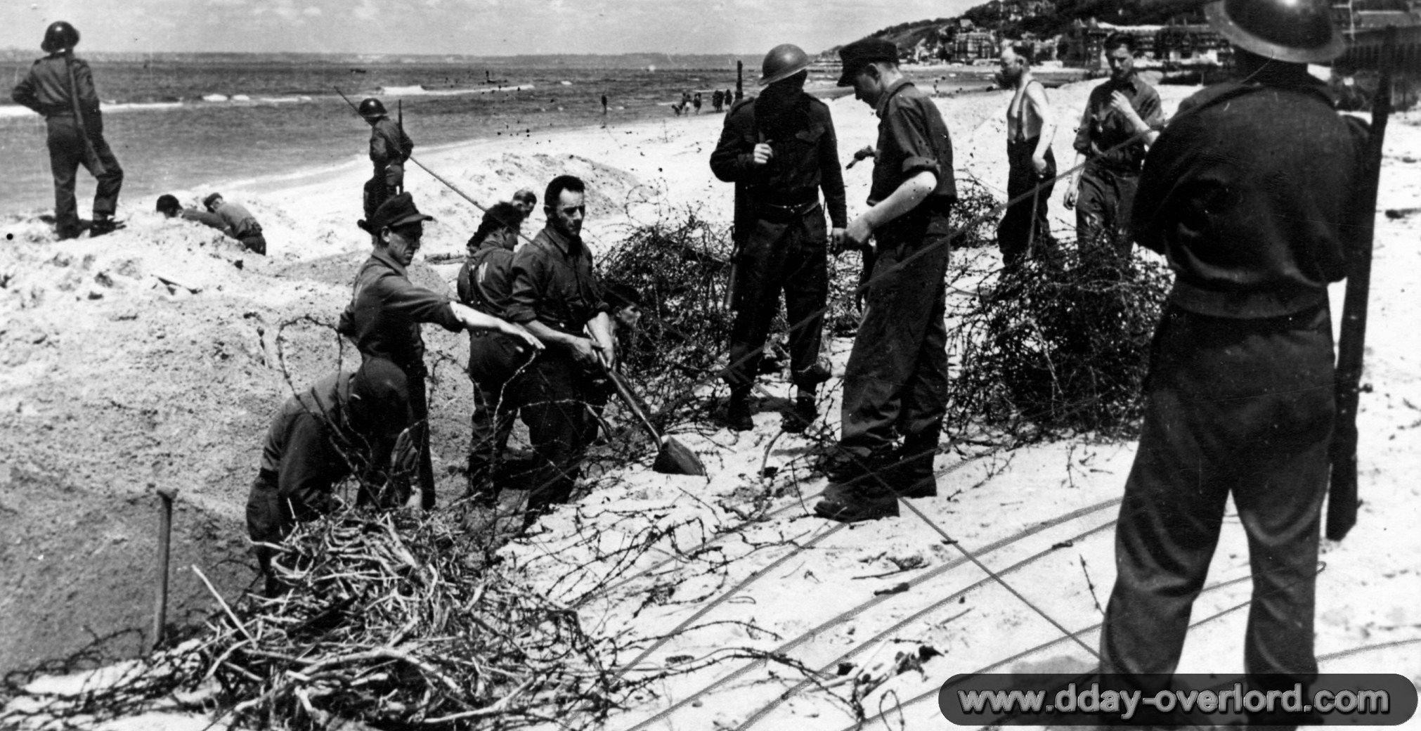 Deauville in 1944 - Calvados - Battle of Normandy