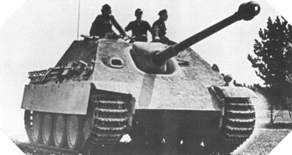 Image : char Jagdpanther allemand