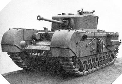 Image : Char Mark IV Churchill (A22)