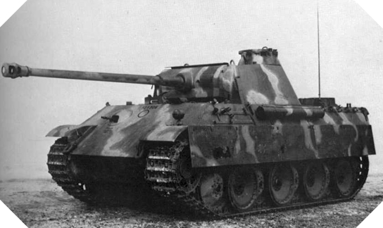 Image : Char Panther modèle G
