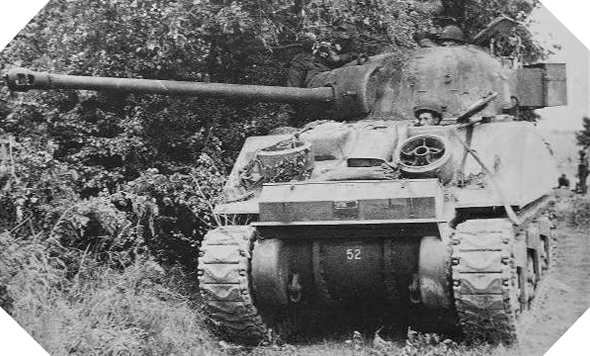 sherman firefly vs tiger normandy 1944
