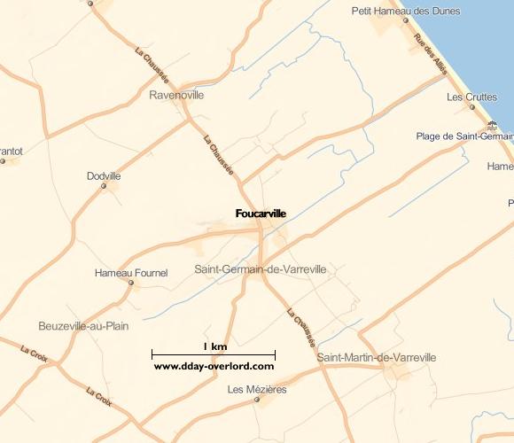 Image : carte de Foucarville