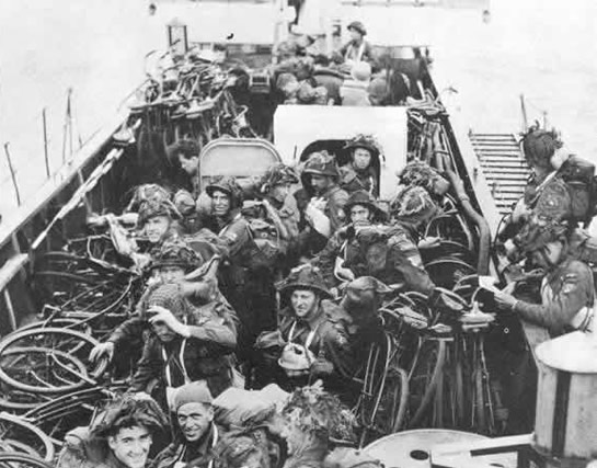 Canadian Landing Craft D Day
