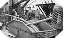 Image : Déroulement du tuyau à bord du HMS Latimer