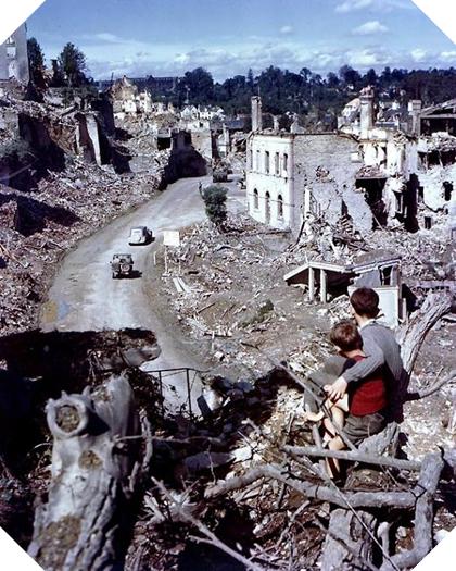 Image : Les Normands face aux bombardements en 1944