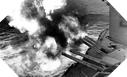 Image : L'USS Nevada ouvre le feu dans le secteur d'Utah Beach le 6 juin 1944.