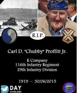 Carl D. Chubby Proffitt Jr.