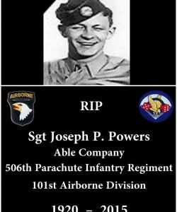 Joseph. P. Powers