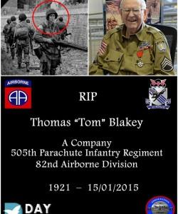 Thomas Tom Blakey