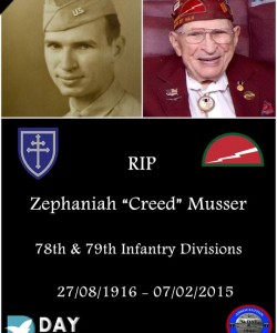Zephaniah Creed Musser