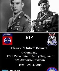 """Henry """"Duke"""" Boswell"""