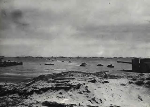 Alogenuro d/'argento SECONDA GUERRA MONDIALE FOTO Normandia Invasione truppe LO SBARCO A UTAH BEACH