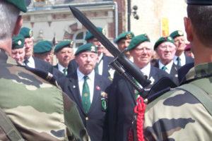 Bénouville - Commémorations 2009 - 65ème anniversaire du débarquement de Normandie. Photo : D-Day Overlord