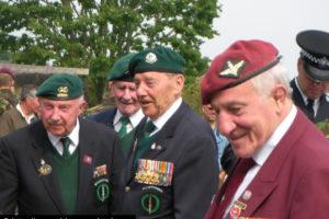 Cimetière de Ranville - Commémorations 2009 - 65ème anniversaire du débarquement de Normandie. Photo : D-Day Overlord