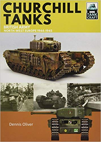 Books on military equipment of D-Day and the Battle of