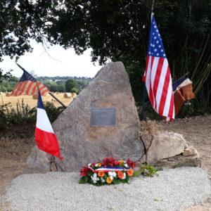 Monument Jospeh T. Cagney Cerisy-la-Salle